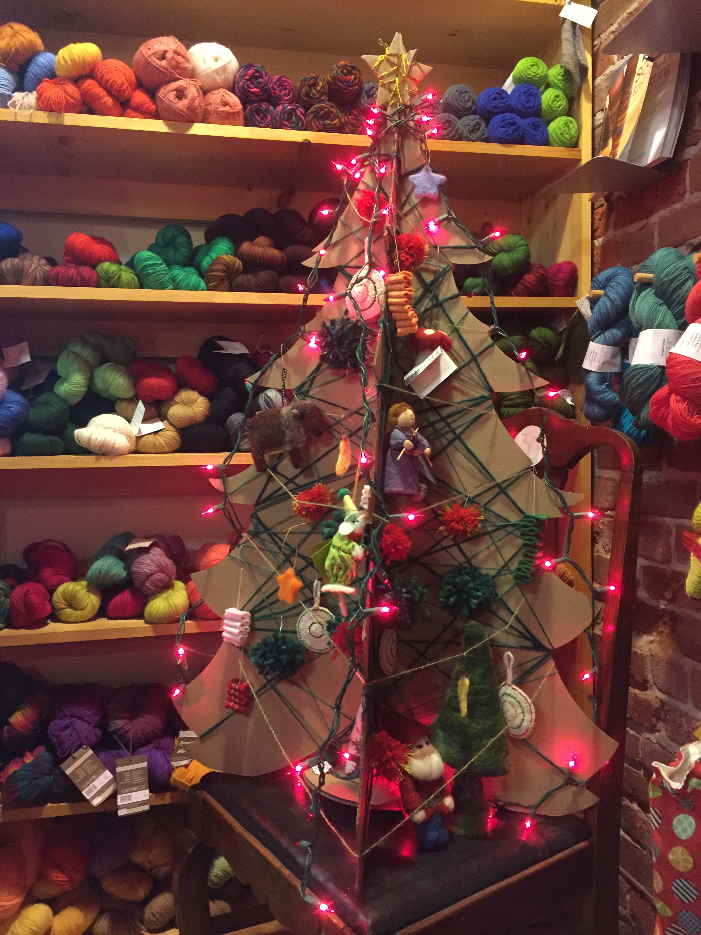 Port Townsend Paper pany 2015 PTPC Kraft Christmas Tree Entries